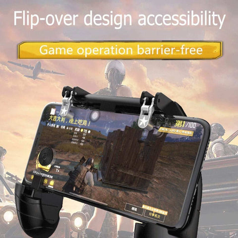 K11 Wireless Gamepad Handle Controller L1R1 Fire Shooter For Pubg Games price in nepal