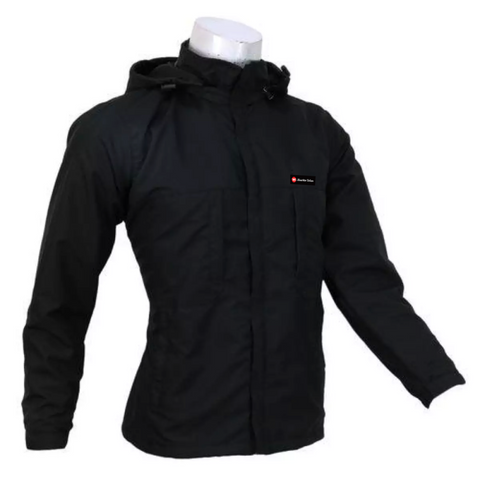 Black Solid Windcheater For Men price in nepal