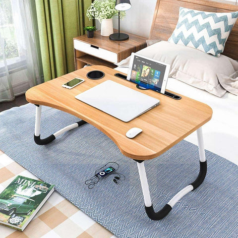 Smart Wooden Multi Purpose Laptop Table/Foldable