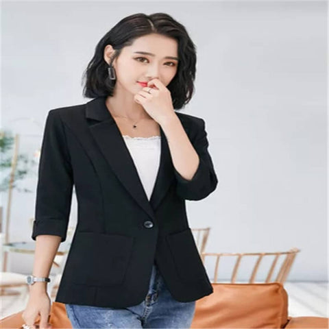 Women's Quarter Sleeve Notched Lapel Blazer by Attire Nepal price in Nepal