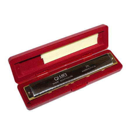 28 Hole Wide Range Polyphony Harmonica price in Nepal