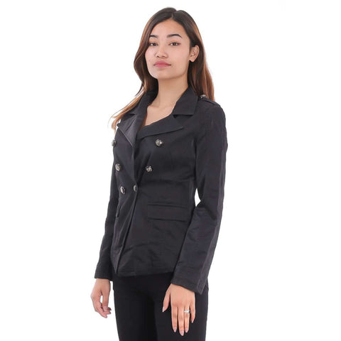 Black Soft Leather Jacket for Women price in Nepal
