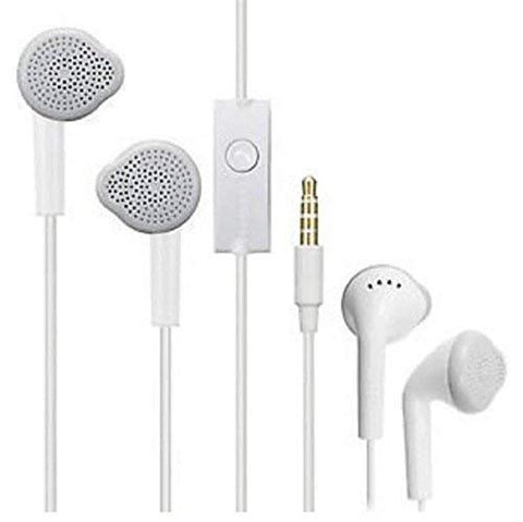 YS Earphones with Ultra Bass & Dolby Sound 0.33mm Jack for All Samsung/Anroid/ iOS Devices - (White) price in Nepal