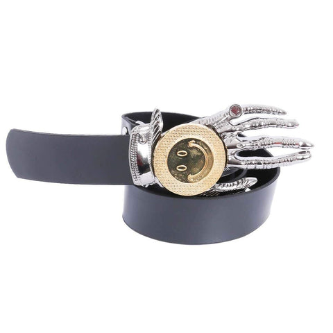 Combo Of 2 Dark Blue Hand Design Buckle Belt For Men Price in Nepal