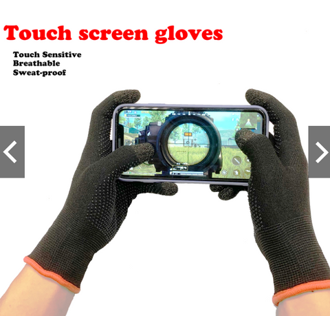 PUBG / Free Fire Full Cots Touch Screen Game Controller Sweat Proof Gloves With Grip - 1 Pair price in Nepal