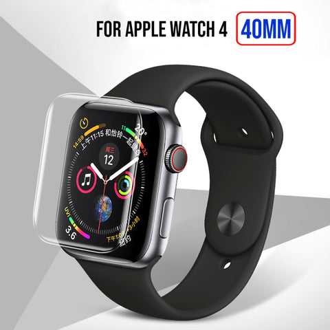 Full Size Anti-Explosion Soft Tpu Screen Guard Film For Apple Watch 4 -40Mm Price in Nepal