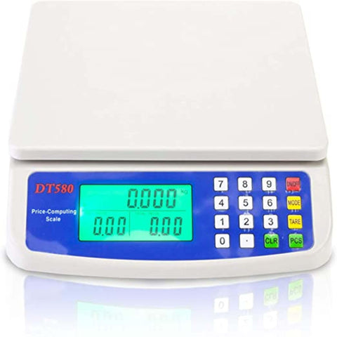 DT580 Digital Weighing Scale LCD Electronic Mini personal electronic digital scale Mini Electronic Price Computing Scale 30kg /ShopHill
