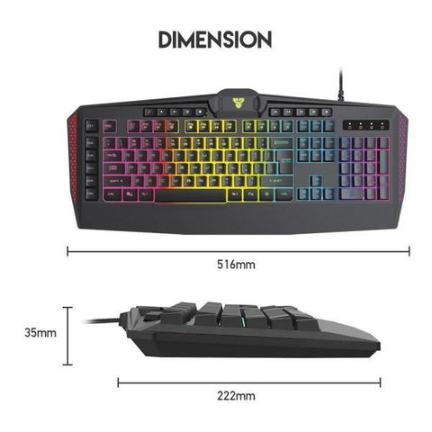FANTECH K513 Booster Membrane Gaming Keyboard