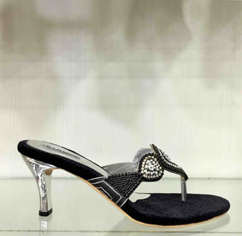 Black Ladies Party Sandal