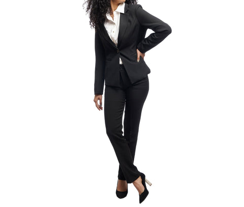 Women's Structured Notched Lapel Single Breasted Blazer by Attire Nepal price in Nepal