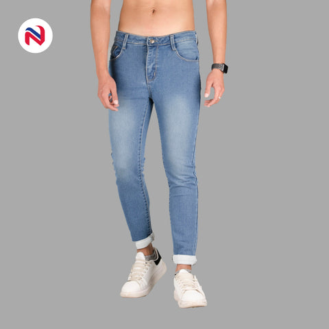 Nyptra Light Blue Premium Choose Jeans For Men price in nepal