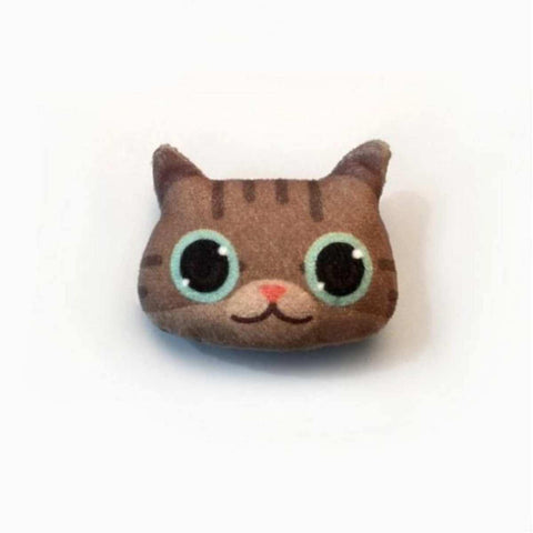 3D Lovely Handmade Big Eyed Cat Emoji Brooch  price in Nepal