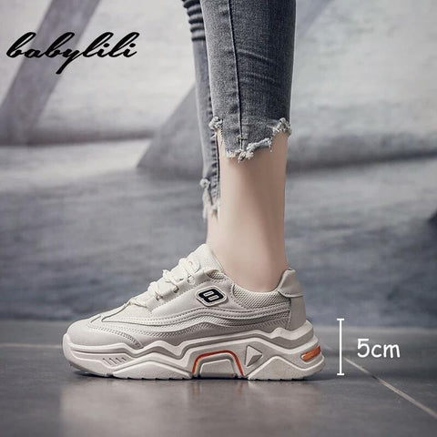 Fabulous Women Spring Autumn Leather Walking Shoes Breathable Lace Up Fashion Shoes ( Genuine ) price in nepal