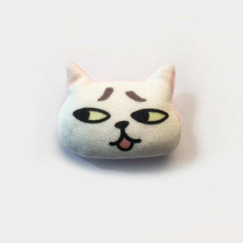 3D Lovely Handmade Naughty Cat Emoji Brooch price in Nepal