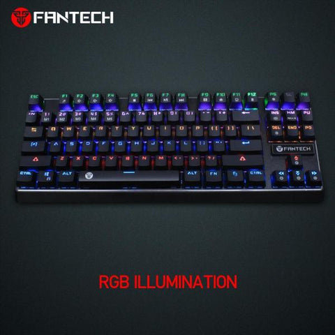 FANTECH PANTHEON MK871 RGB BACKLIT ANTIGHOST MECHANICAL GAMING KEYBOARDprice in nepal