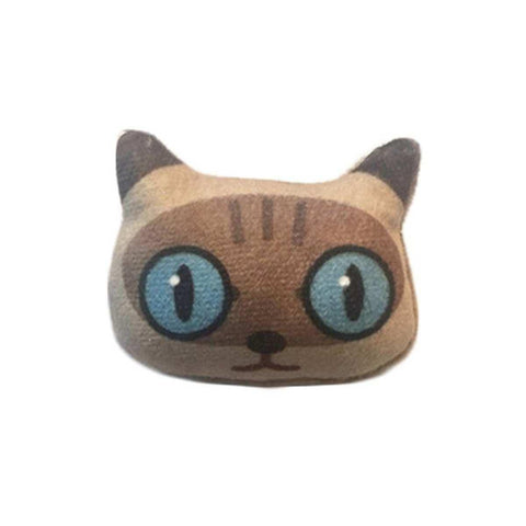 3D Lovely Handmade Blue Eyed Cat Emoji Brooch price in Nepal