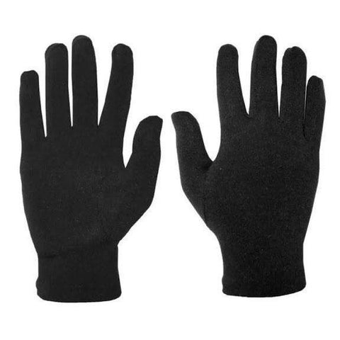 1 Pair Spring Summer Spandex Black Thin Stretch Gloves Bike/Scooter Riding/Driving Gloves By Bajrang
