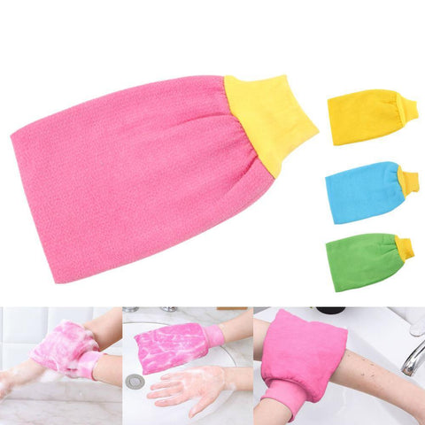 Gloves Shower Bath Mitt Loofah Skin Exfoliating Body Scrub Massage Sponge Spa price in Nepal