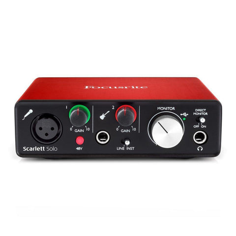 Focusrite Scarlett Solo (2Nd Gen) 2In/2Out Usb Audio Interface price in Nepal