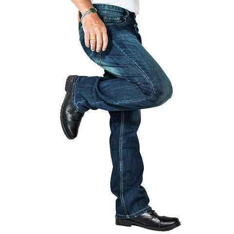 Virjeans Bootcut Pant For Men (Vjc 688) Dark Blue