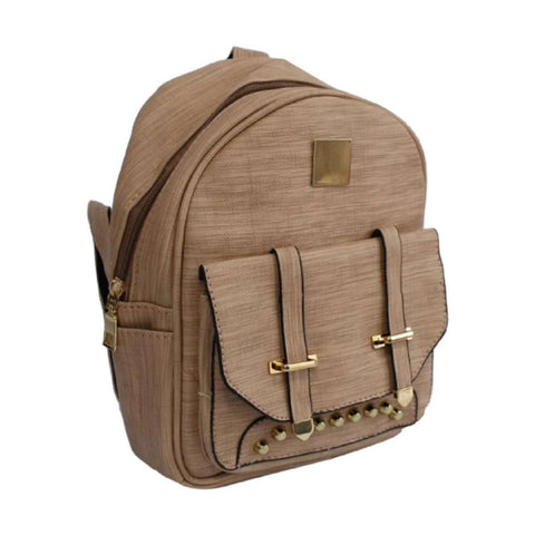 Mini Backpack Women Fashion Wild Bag Student PU Leather Shoulder School Bag For Teenage Girls Fashion Ladies