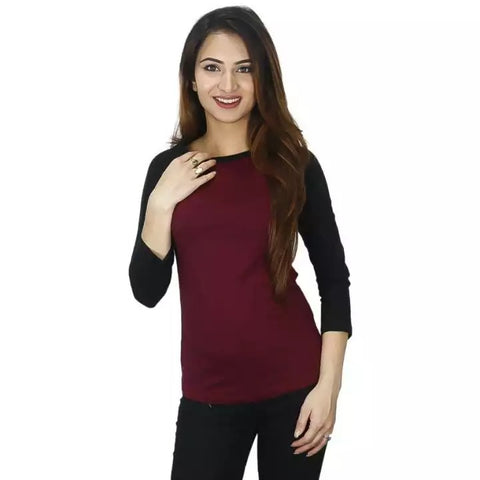 Knitted Cotton Sports T-Shirt For Women (For Winter) price in nepal