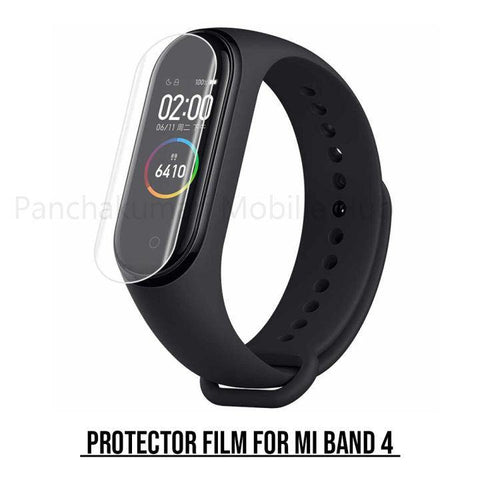 Tpu Unbreakable Membrane Screen Guard Film For Mi Band 4