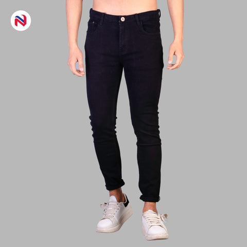 Nyptra Black Stretchable Jeans For Men price in nepal