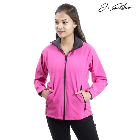 J.Fisher Solid Softshell Jacket for Women price in Nepal