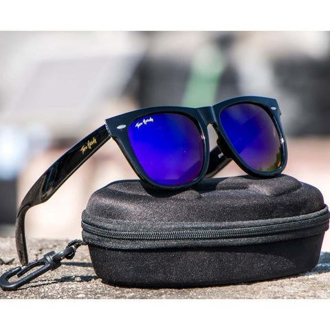 Lookscart Wayfarer Unisex Sunglasses- Dark Blue