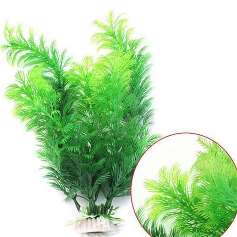 30Cm Artificial Plastic Water Plant Large Fish Tank Grass Aquarium Ornament price in Nepal