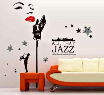 All That Jazz Decor Wall Stickers (mws9100)