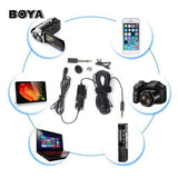 Boya By-M1 Lavalier Microphone For Smartphones, DSLR, Camcorders, Audio Recorders, PC