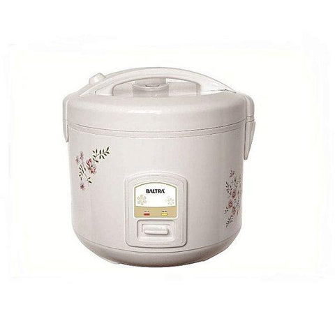 Baltra Rice Cooker (BTC 1000D) Cloud Deluxe 2.8L- White Price in nepal