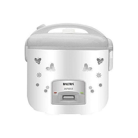Baltra Rice Cooker (BTG-700D) Star Deluxe 1.5 Ltrs – White  Price in nepal