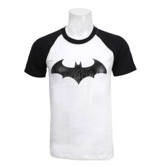Batman T-Shirt - White/Black