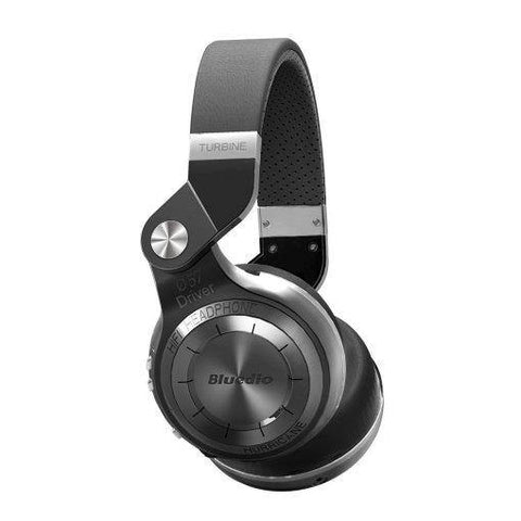 BLUEDIO T2 PLUS TURBINE WIRELESS BLUETOOTH HEADPHONES WITH MIC/MICRO SD CARD SLOT/FM RADIO price in Nepal