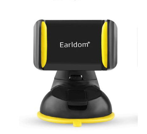 Earldom Eh-02 Mobile Phone Universal Car Holder 360 Degree Rotation