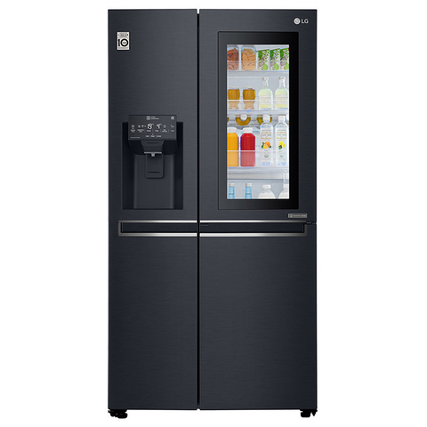 LG 668L Matt Black Side-by-Side Refrigerator Price In Nepal