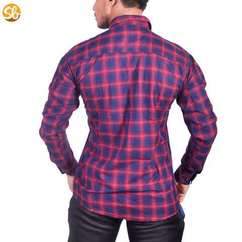 Full Sleeves Check Shirts for Men