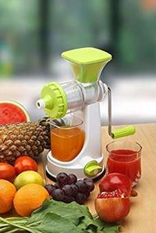 Fruits And Vegetable Juicer With Steel Handle