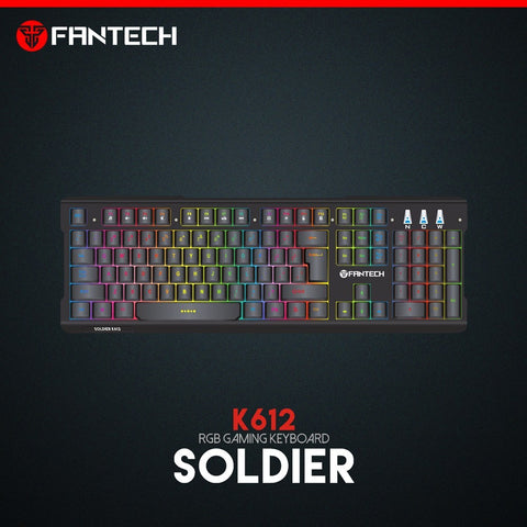 Fantech SOLDIER K612 RGB Gaming Keyboard price in nepal