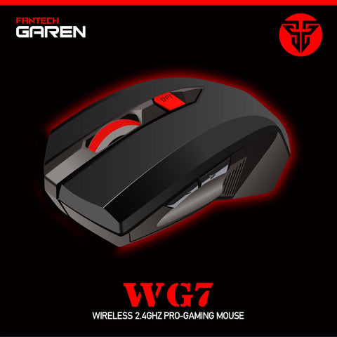 Fantech GAREN WG7 Wireless Gaming Mouse [BLACK]  price in nepal