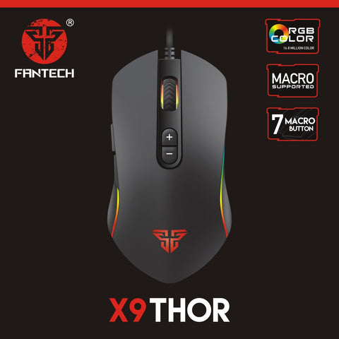 Fantech THOR X9 Gaming Mouse price in nepal