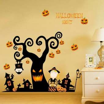 Halloween Night Wall Sticker Decals