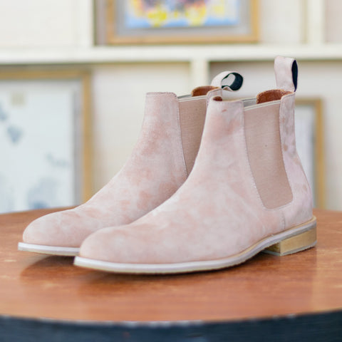 Tan Suede harness chelsea boots price in nepal