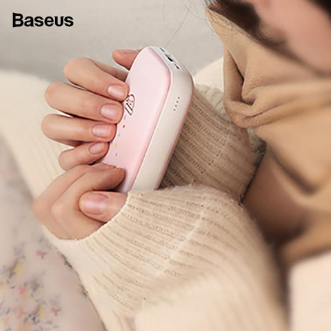 Baseus Mini Q Hand Warmer 10,000 Mah Power Bank - Genuine