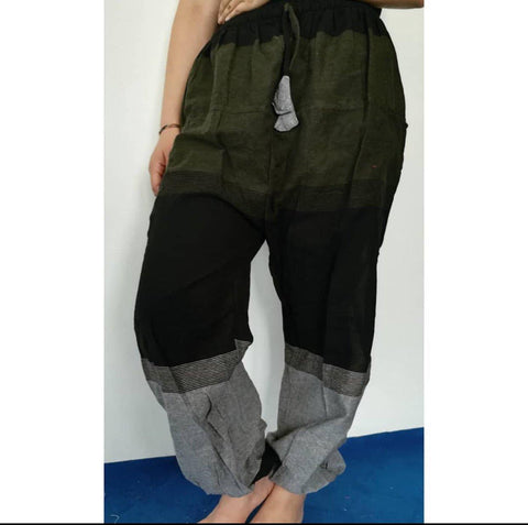 Green Hemp Pant For Women
