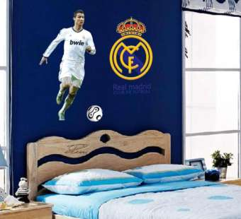 Real Madrid Home Decor Wall Stickers (mws9906)