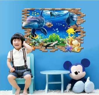 Sea Aquarium Decorative Wall Decals